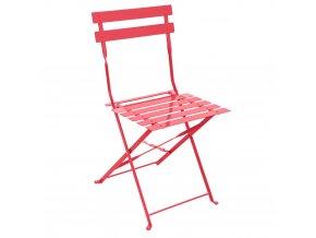 Skládací zahradní židle, Balkon, Červená