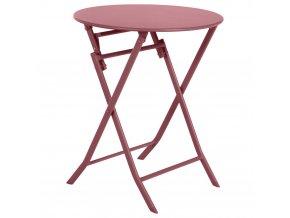 Balkón Stůl, Skládací zahradní stůl, Červená