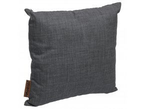 LOLLY dekorativní polštář, 40x40 cm, tmavá šedá
