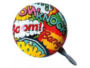 """Barevný zvonek na kole """"Boom"""" od značky Zapamatovat, designový gadget pro cyklisty"""