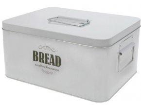 Kovový pekárna - pekárna s víkem, kontejner na chléb BIN TIN