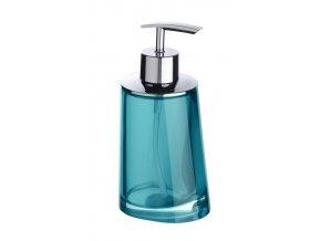 Dávkovač na mýdlo PARADISE, barva tyrkysová - 200 ml, WENKO