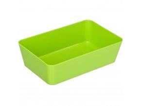 Candy GREEN skladovací kontejner - 22x14 cm, WENKO