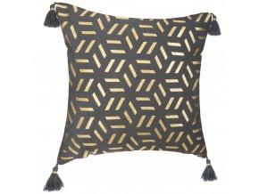 Dekorativní polštář s okrajem, dekorativní polštář bavlna