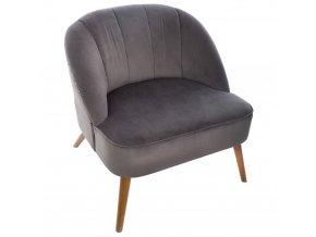 Elegantní a pohodlné křeslo Nova, pevné křeslo s měkkým sedadlem