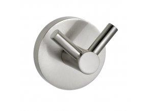 Věšák koupelnový PINETO DUO, Power-Loc - nerezová ocel, WENKO