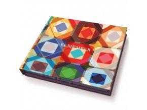 Kancelářský blok lepicích poznámek, 11x9,5x1,5 cm