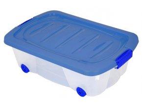 Kontejner na kolečkách pro skladování - 24l