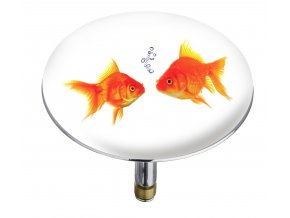 Zátka do vany Pluggy® XXL Fishes, WENKO