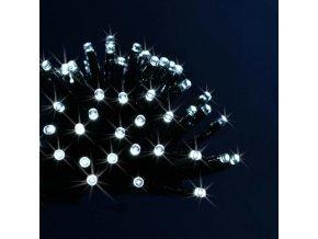 Dekorativní vánoční LED svítidla v bílé barvě, 96 ks, 7 cm