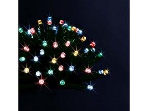 Dekorativní 200 LED vánoční světla, vícebarevné