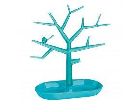 Stromeček na šperky Pi:p,velikost M - barva tyrkysová, KOZIOL