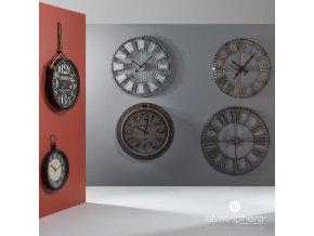 GREY VINTAGE CLOCK D90
