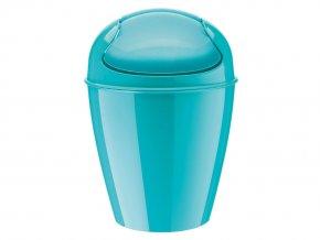 Odpadkový koš DEL XS, 2 l - barva tyrkysová, KOZIOL