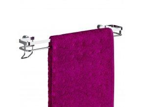 Stojan na ručníky do koupelny PREMIUM - nerezová ocel, WENKO