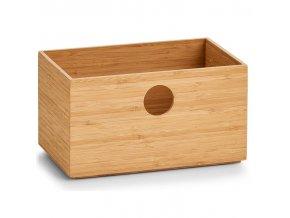 Bambusová krabice s otvorem, kontejner pro ukládání drobností - ZELLER