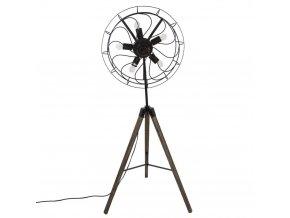 Stojací lampa pro 5 žárovek - výška 148 cm