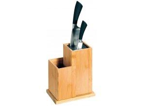 Kuchyňský blok pro nože z bambusu