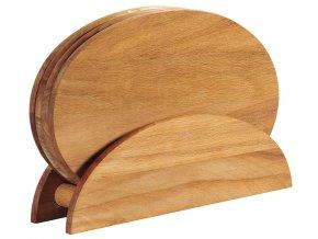 Sada prkének z bukového dřeva, kuchyňské desky, prkénka na stojanu, stojan na prkénko, Kesper