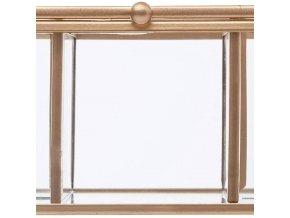 Obdélníková skleněná krabice, 5x7x20 cm