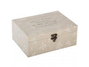 Krabička na šperky GARDEN, malá krabička