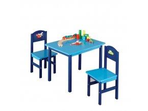 Dětský stolek BOYS + 2 židličky,