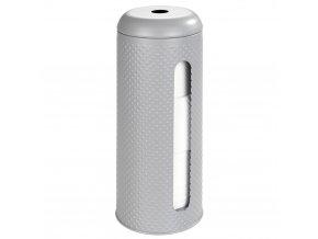 Držák toaletního papíru PUNTO, kovový kontejner pro 3 role - WENKO