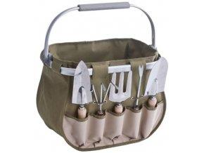 Taška na zahradní náčiní + 5 ks zahradního nářadí, ZELLER