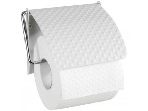 Kovový věšák na toaletní papír, dekorativní držák na stěnu PUNTO - WENKO