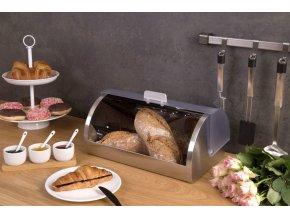 Plastový chléb, praktická imitace kovu a stylový, snadno se čistí a hygienické.