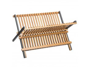 Řezačka nádobí, originální a ekologické, z bambusového dřeva.
