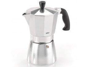 Kávovar s izolovanou rukojetí pro 3 šálky kávovar z hliníku espresso