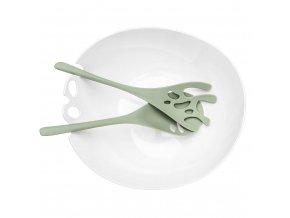 Salátová mísa s lžícemi SHADON 3.5 L, KOZIOL