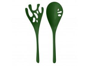 Salátové lžíce SHEDON, barva zelená