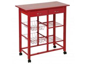 Kuchyňský košík Rack 5five Simple Smart, barva červená