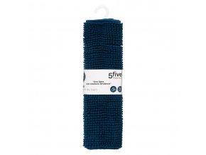 Podložka na koupelnu TAPIS MINI ČENILLE, 50x80 cm, námořní modrá