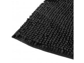 Podložka do koupelny TAPIS MINI CHENILLE, 50x80 cm, černá