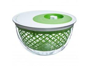 Sušič salátů v zelené barvě Simple Smart, 5l, 16x27 cm