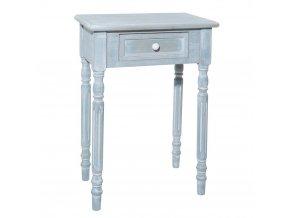 Noční stolek vintage modrá, Atmosphera Créateur d'intérieur