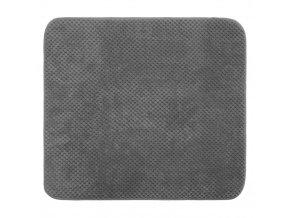 Podložka do koupelny TAPIS, 50x38 cm, barva šedá