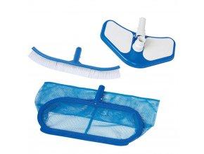 Sada na čištění bazénů, Deluxe, 3 kusy, Čištění zahradního bazénu, INTEX