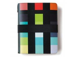 Pevná vazba kožený notebook, barevný notebook s kalendářem perfektní dárek gadget
