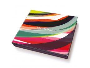 Kapesní notebook s poznámkami, dekorativní sada pro kabelku nebo kancelář