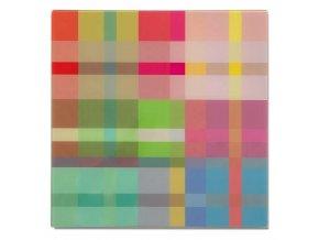 Značkovací psací tabule, magnetická deska ve vícebarevných vzorcích