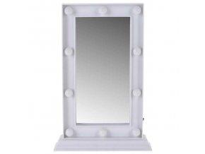 Make-up zrcátko s LED osvětlením, kosmetické zrcátko pro snadnou péči