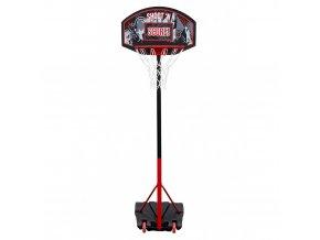 Přenosná basketbalová deska se stojánkem, mobilní basketbalová sada pro hru kdekoli