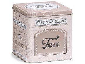 Nádoba na čaj, dekorativní, Kov, Béžová stylistika, Zeller