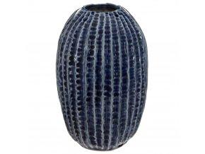 Keramická váza Dekorativní, Dekorativní Květinová dekorace OFEAN, Tmavě modrá
