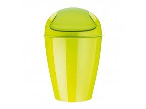 Odpadkový koš DEL M, 12 l- barva zelená, KOZIOL