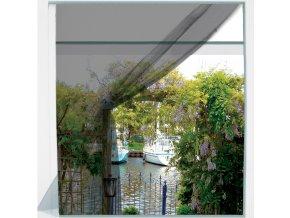 Síť proti komárům, 130 x 150 cm, černá, Pro zahrada
